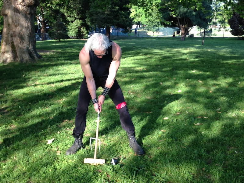 Croquet is Totally Metal