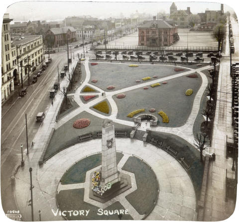 Victory Square Vancouver Archives