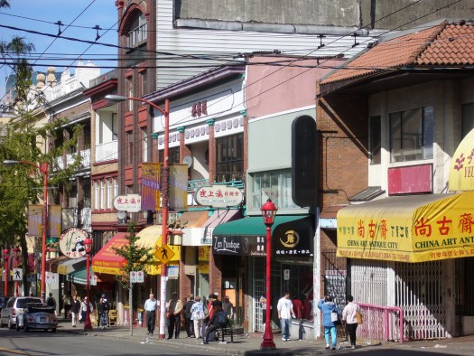 Chinatown of Vancouver