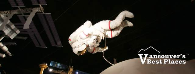 Astronaut Display at Vancouver Space Centre