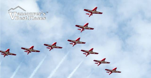 Canadian Snowbird Planes at Abbotsford