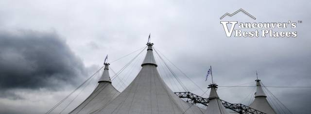 Cavalia Big Top and Clouds