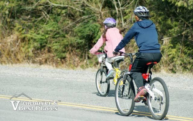 Cycling Mount Seymour