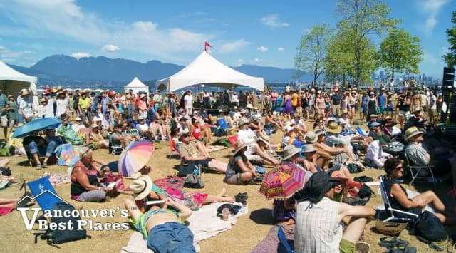Folk Fest at Jericho Beach Park