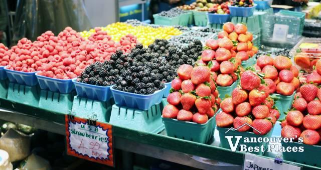 Granville Island Market Produce