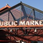 Granville Island Public Market entrance sign