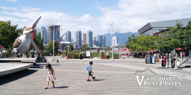 Olympic Village Plaza