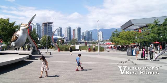 Olympic Village Plaza