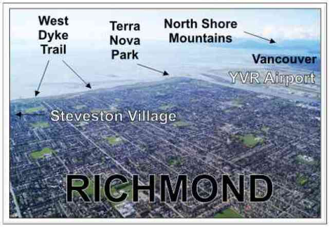 Richmond Aerial Map
