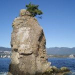 Siwash Rock at Stanley Park