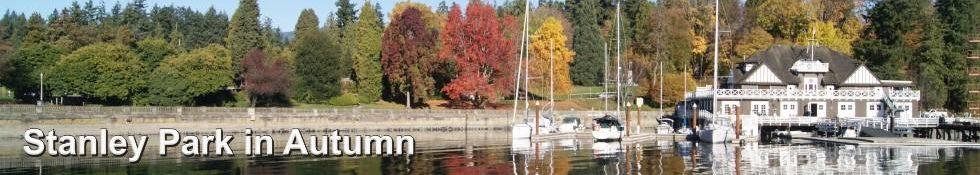 Stanley Park in Autumn