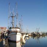 Fishing Boat docked at Steveston Village