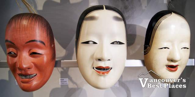 Three MOA Museum Masks