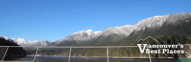 View from Cleveland Dam Deck