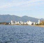 View of Kitsilano Beach and Vancouver