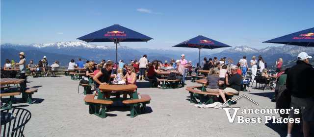 Whistler Peak to Peak Patio