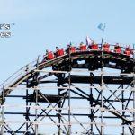 Wooden Roller Coaster at PNE Playland