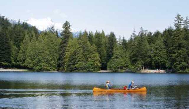 Alice Lake Canoeing