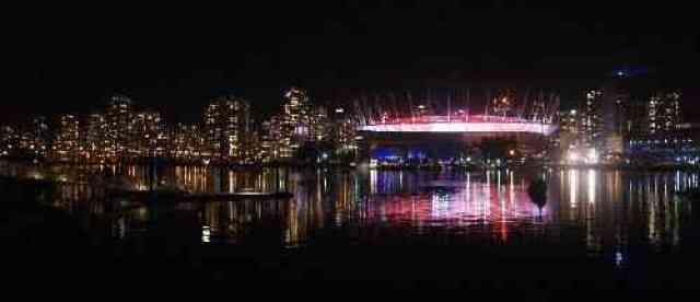 BC Place Vancouver Skyline
