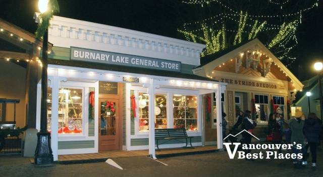 Burnaby Village at Christmas