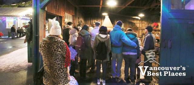 Christmas Blacksmith Demonstrations at Burnaby Village