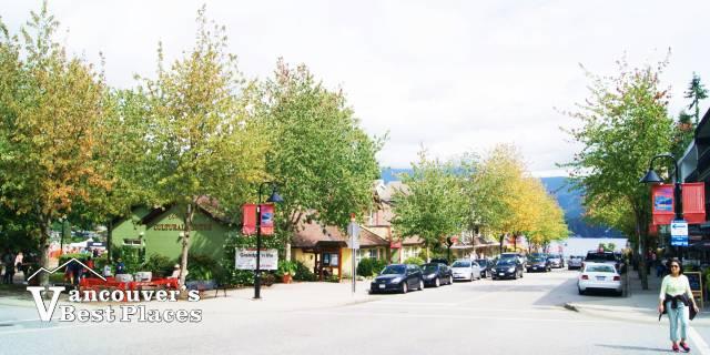 Deep Cove's Main Street