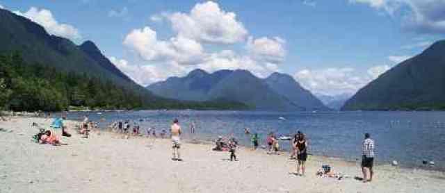 Alouette Lake Beach