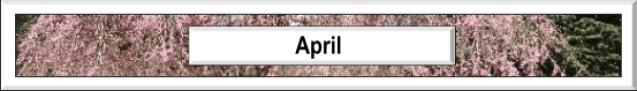April in Vancouver