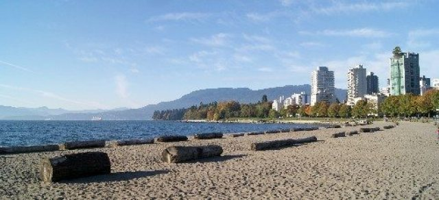 Beach at English Bay