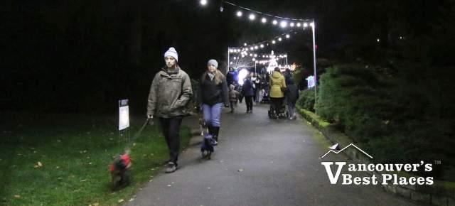 Garden Light Festival Pathway