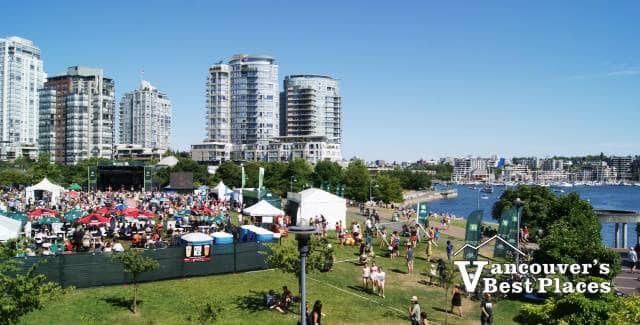 Jazz Festival by False Creek