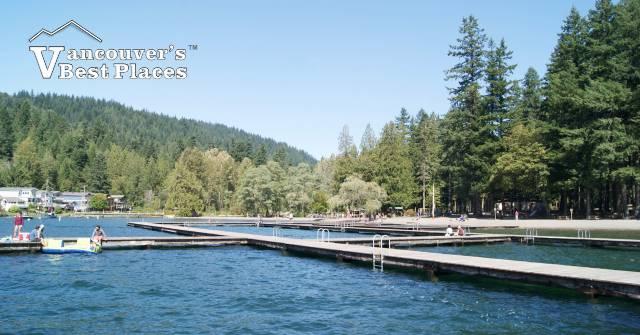 Main Beach Docks at Cultus Lake
