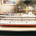 Model Ship at Vancouver Maritime Museum