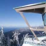 View from the Observatory Restaurant at Grouse Mountain