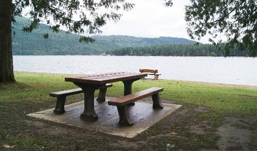 Picnic Table at Cultus Lake