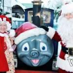 Santa, Mrs Claus and the Bear Creek Train