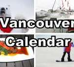 Vancouver January Calendar