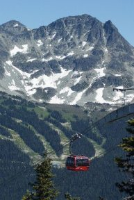 Whistler Ski Resort Peak to Peak Gondola