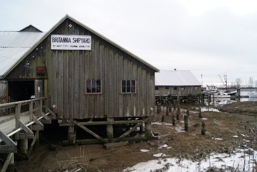 Britannia Shipyards in Winter
