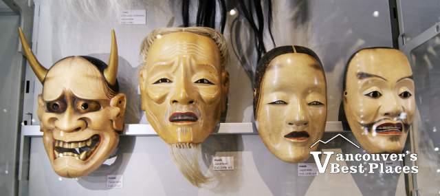 Row of MOA Masks