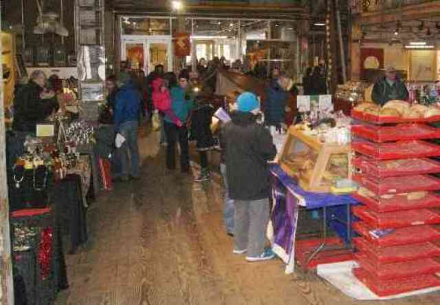 Winter Market at Gulf Cannery