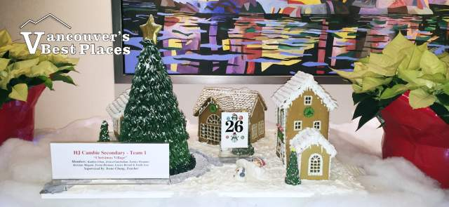 Cambie Secondary School Display at Gingerbread Lane