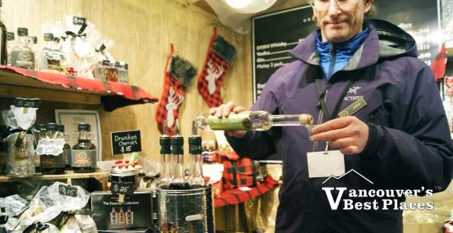Christmas Market Okanagan Spirits Liqueur Samples