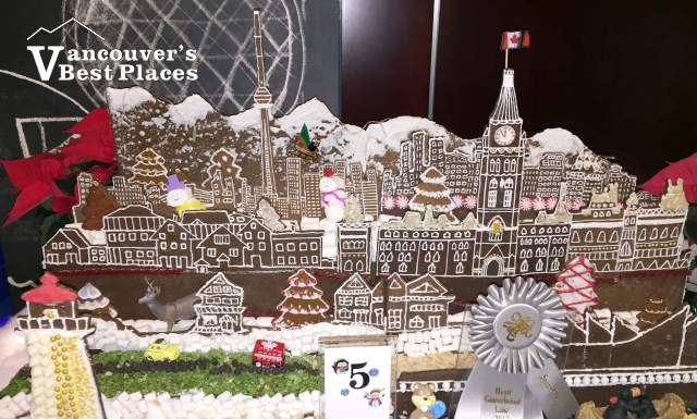 Kasian Architecture Gingerbread Display