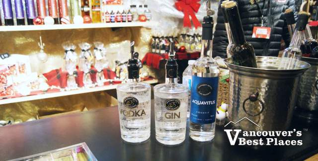 Okanagan Spirits at the Vancouver Christmas Market