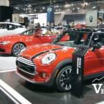 Auto Show Mini Coopers