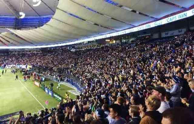 BC Place Soccer Fans