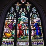 Holy Rosary Cathedral Stained Glass Window