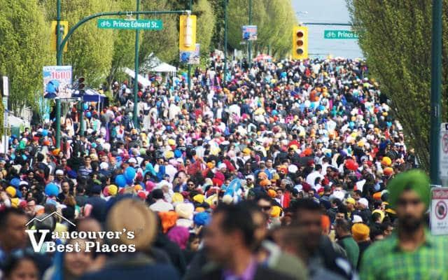 Vaisakhi Parade Crowds