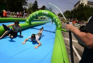 Slide the City Water Slide
